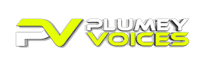 Plumey voices logo small