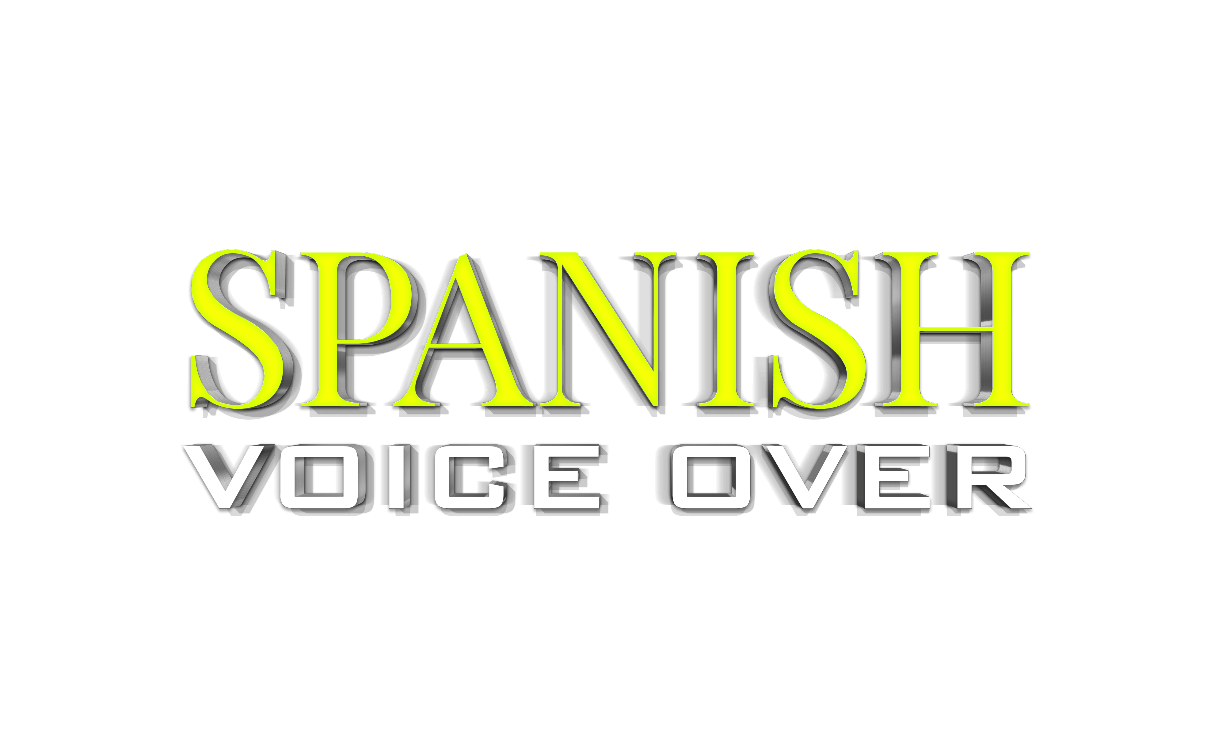 Spanish Voice Over